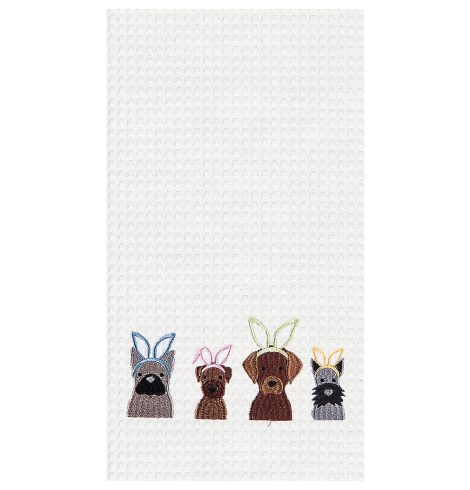 A photo of the Dog Ears Kitchen Towel product