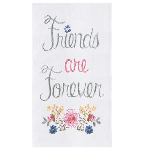 A photo of the Friends Are Forever Towel product