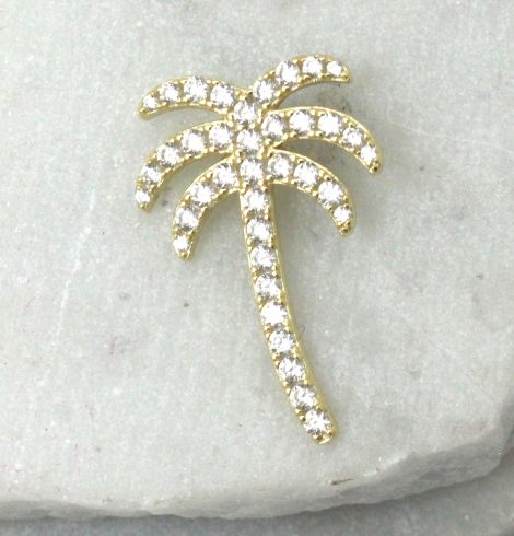 A photo of the Gold Palm Pendant product