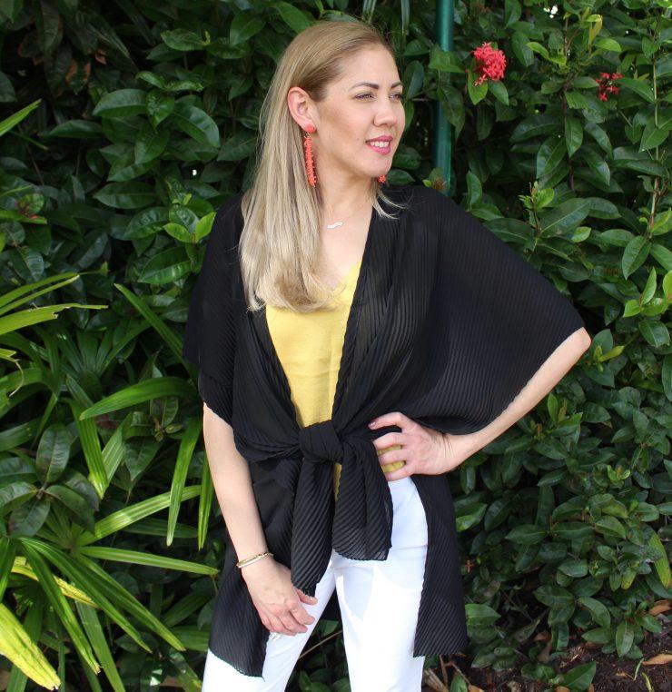 A photo of the Pleated Kimono product