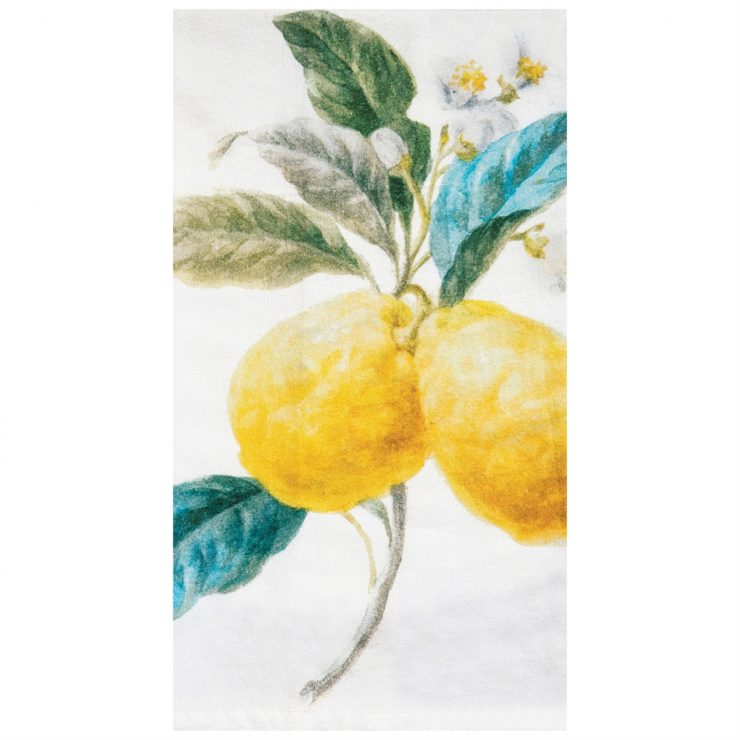 A photo of the Lemon Stripe Towel product