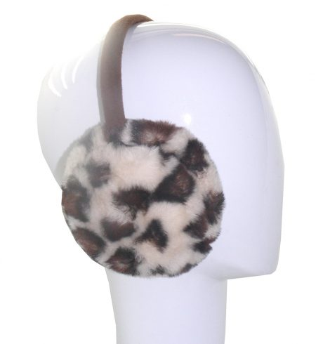 A photo of the Leopard Earmuffs product
