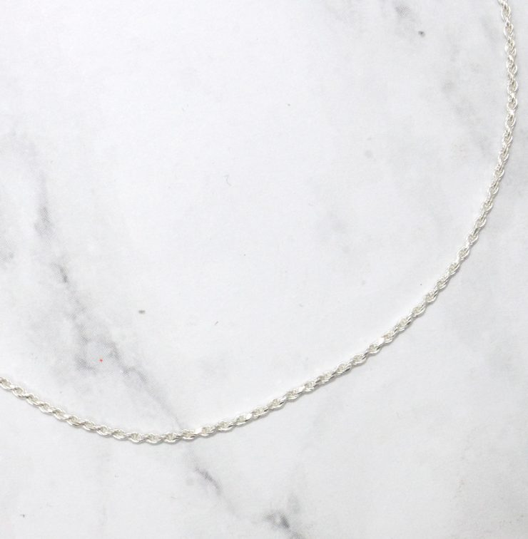 A photo of the Little Twisted Anklet product
