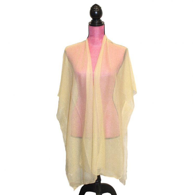 A photo of the Sheer Sparkle Kimono product