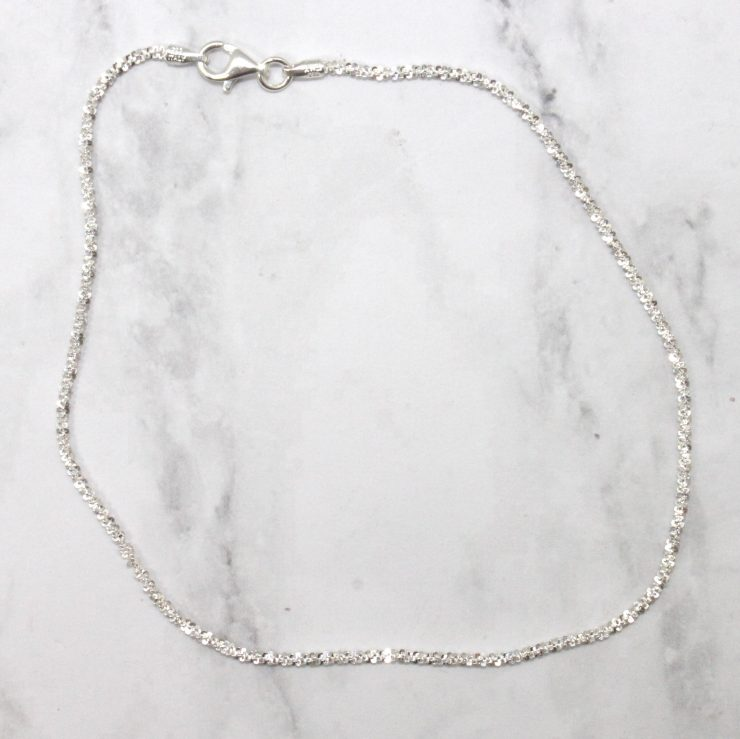 A photo of the Shiny Chain Anklet product