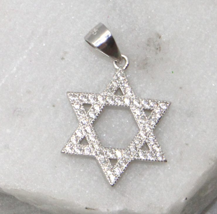 A photo of the Star of David Pendant product