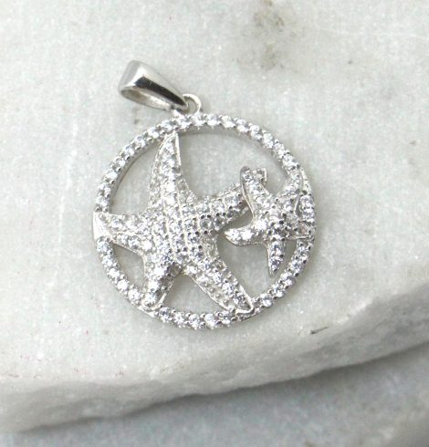 A photo of the Starfish Duo Pendant product