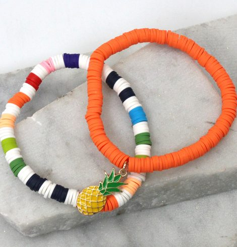 A photo of the Tall Flamingo Bracelet product