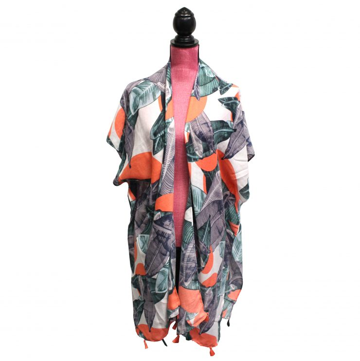 A photo of the Tropical Kimono product