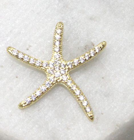 A photo of the Waving Starfish Pendant product