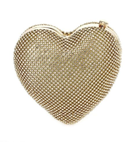 A photo of the Amor Purse in Gold product