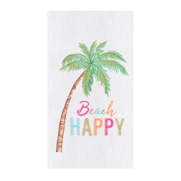 A photo of the Beach Happy Kitchen Towel product