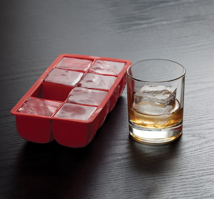 A photo of the Big Block Silicone Ice Tray product