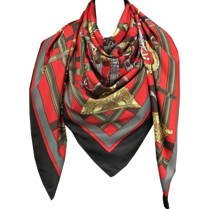 A photo of the Chain Maze Scarf product