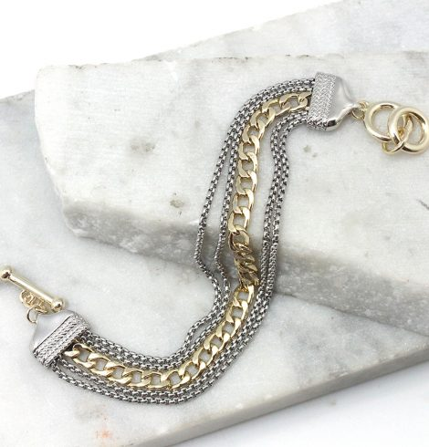 A photo of the Chains and Links Bracelet product