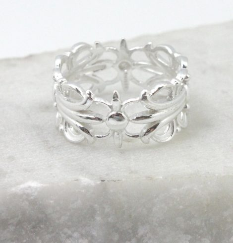 A photo of the Delicate Design Ring product