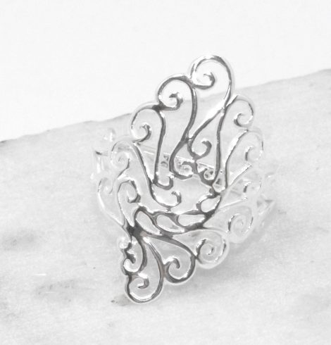 A photo of the Delicate Elongated Ring product