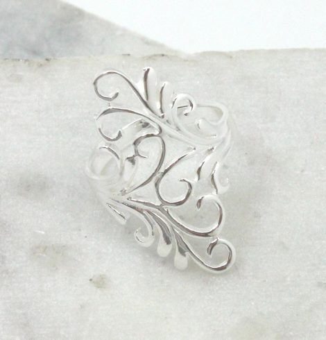 A photo of the Delicate Hearts Ring product