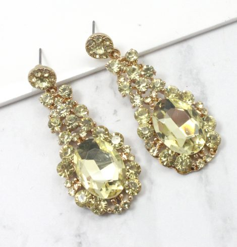 A photo of the Drops of Glitter Earrings product