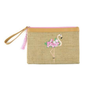 A photo of the Flamingo Wristlet product