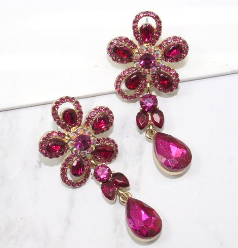 A photo of the Florie Earrings product