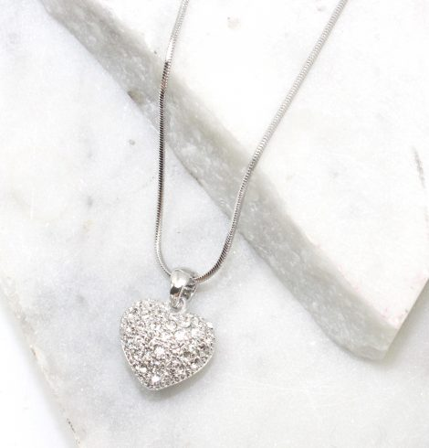 A photo of the Full Heart Necklace product