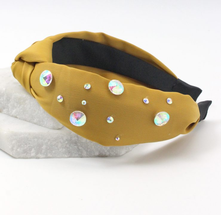 A photo of the Gemstone Knot Headband product