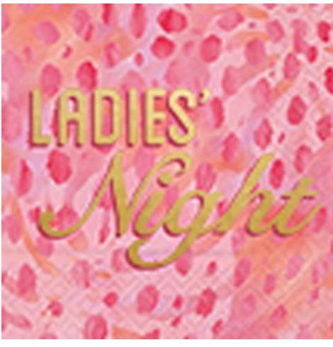 A photo of the Ladies Night Napkins product