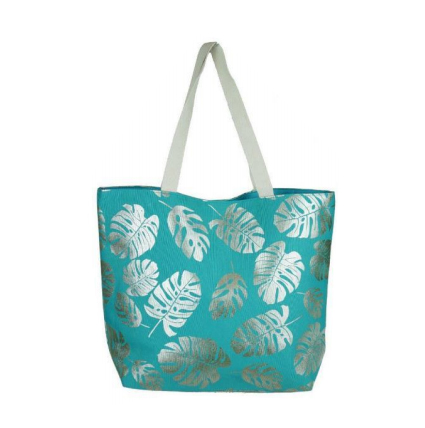 A photo of the Tropical Leaf Tote product