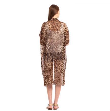 A photo of the Leopard Kimono product