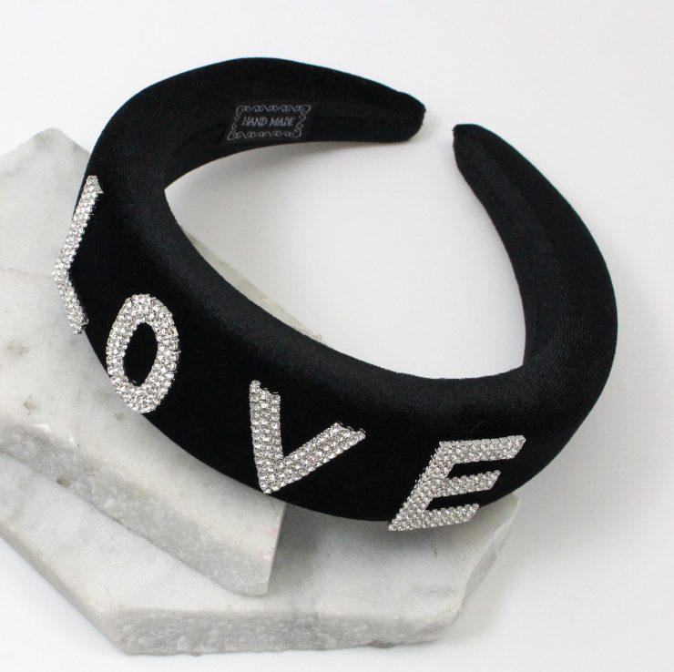 A photo of the Love Headband product