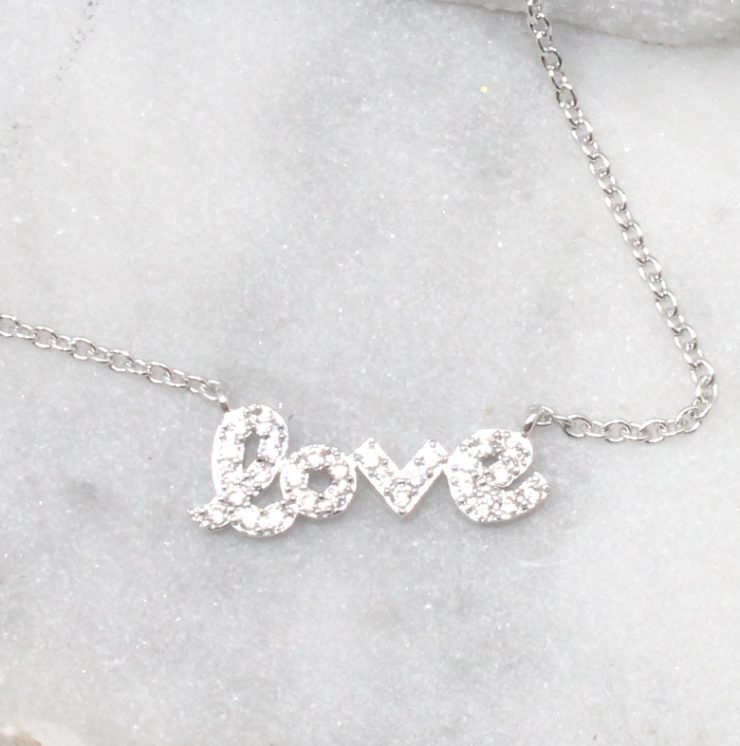 A photo of the Love Necklace product