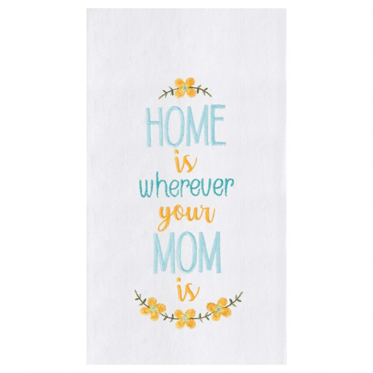 A photo of the Home with Mom Towel product