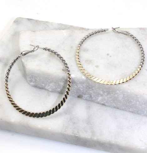 A photo of the Official Hoop Earrings product