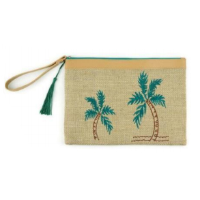 A photo of the Palm Tree Wristlet product