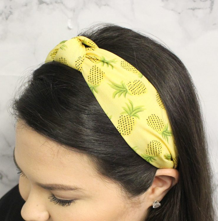 A photo of the Pineapple Headband product