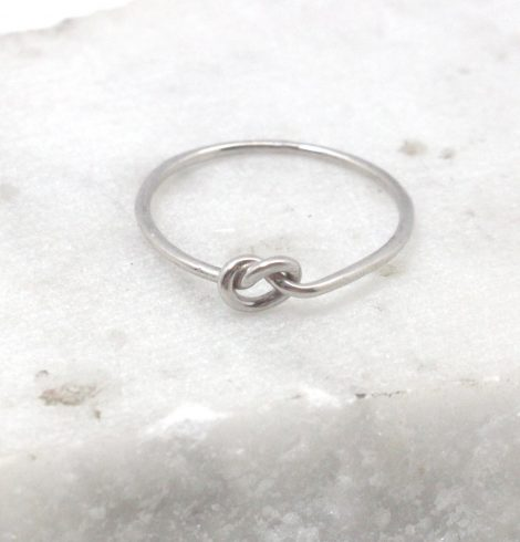 A photo of the Pretzel Knot Ring product
