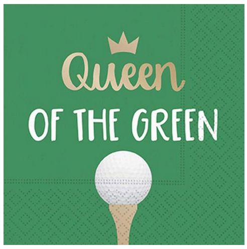 A photo of the Queen of the Green Napkins product