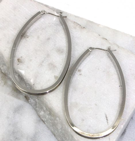 A photo of the Rellie Hoop Earrings product