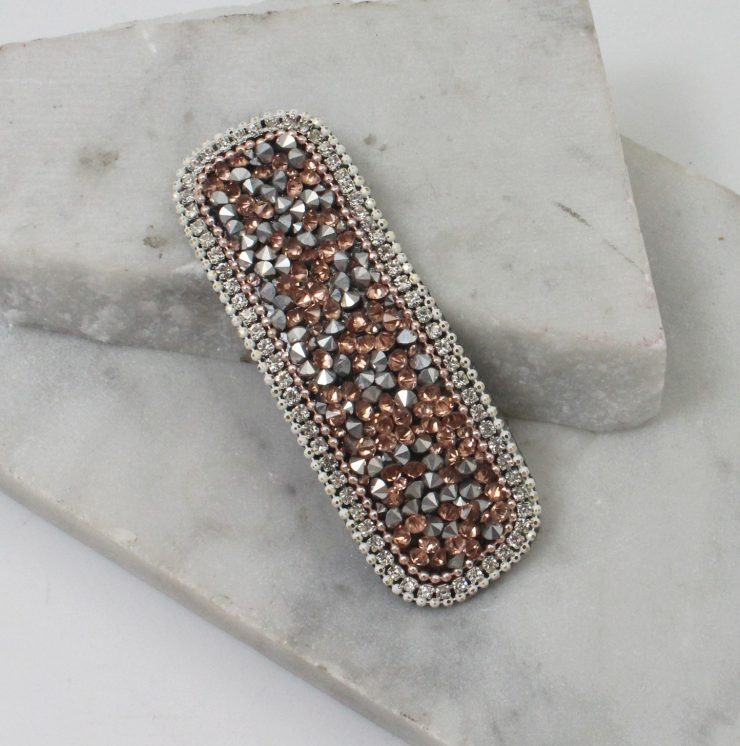 A photo of the Rhinestone Hair Clip product