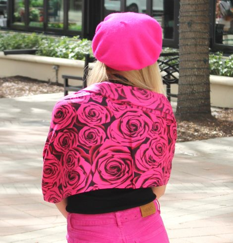 A photo of the Rose Pashmina product