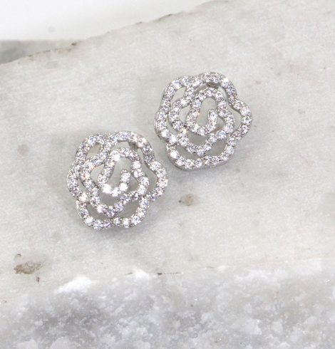 A photo of the Rosy Earrings product