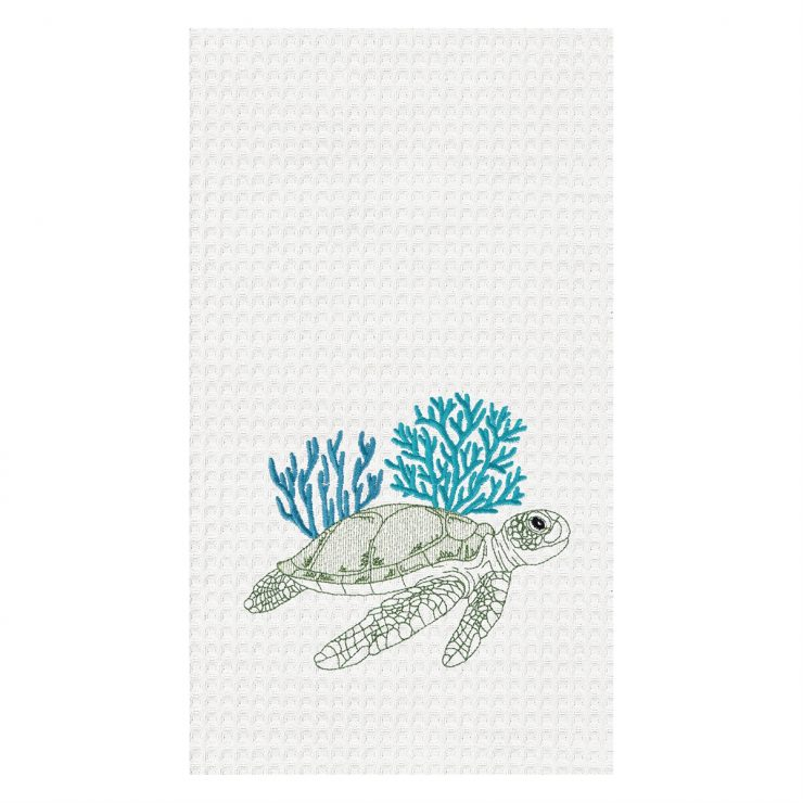 A photo of the Turtle Reef Towel product
