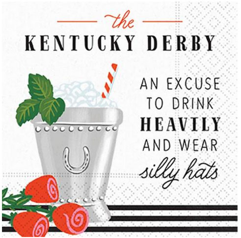 A photo of the Derby and Drinks Napkins product
