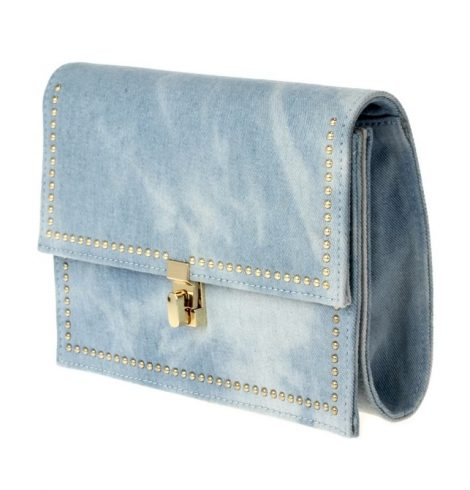 A photo of the Dreaming Denim Cross Body Purse product