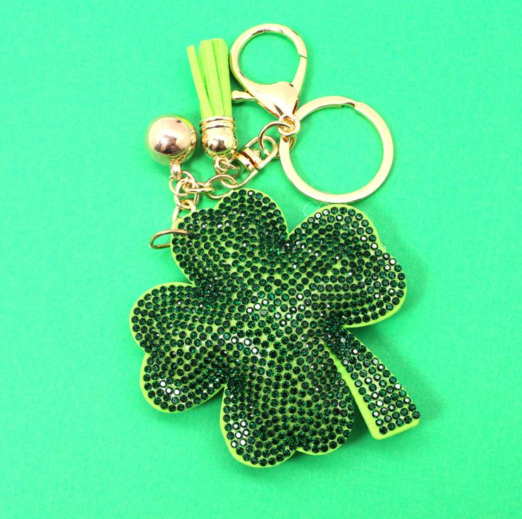 A photo of the Four Leaf Clover Keychain product