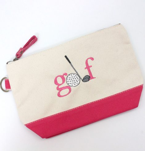 A photo of the Golf Canvas Pouch product