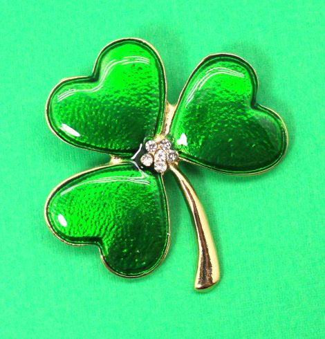 A photo of the Lucky One Clover Pin product