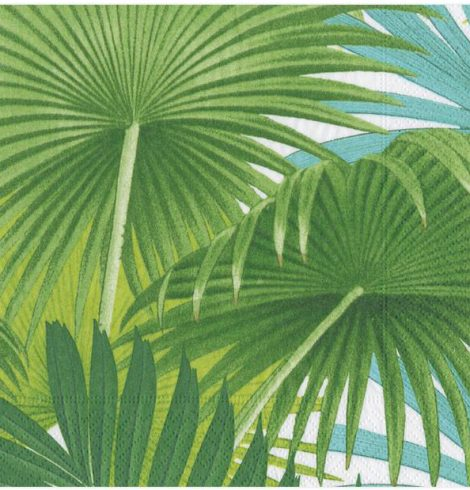 A photo of the Palm Fronds Napkins product