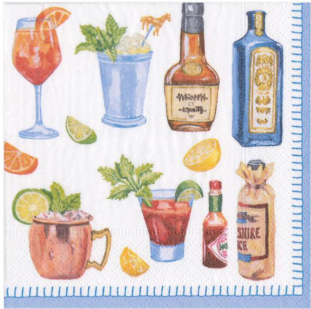 A photo of the Happy Hour Napkins product